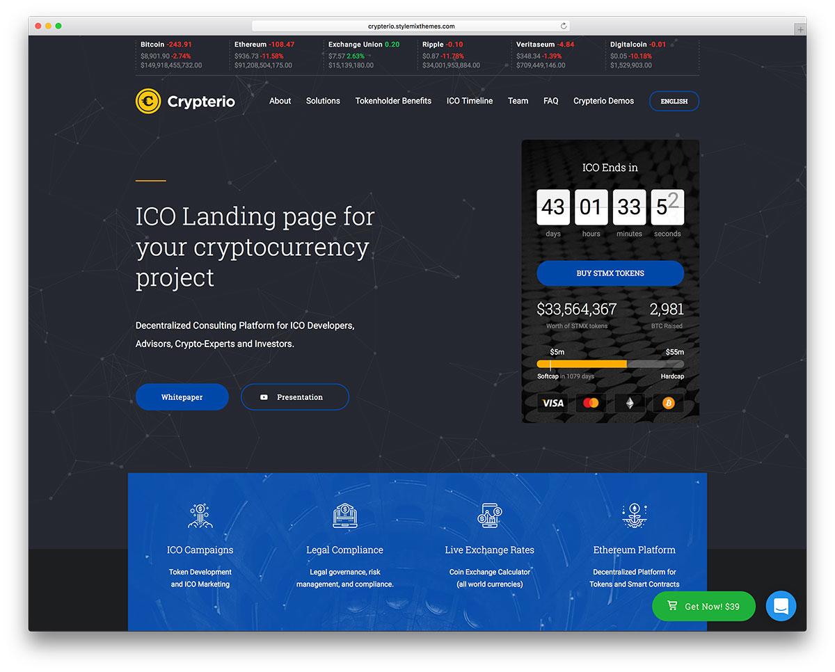 29 Best Bitcoin & Cryptocurrency WordPress Themes 2019 - Colorlib