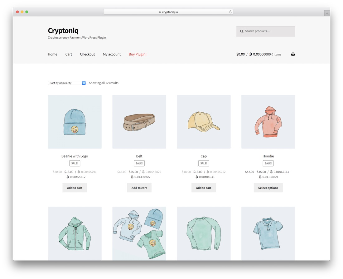 cryptoniq cryptocurrency wordpress plugin