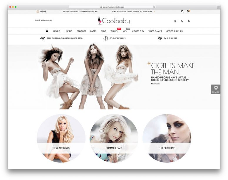 14+ CS-Cart Templates For A Beautiful And Successful Store 2017