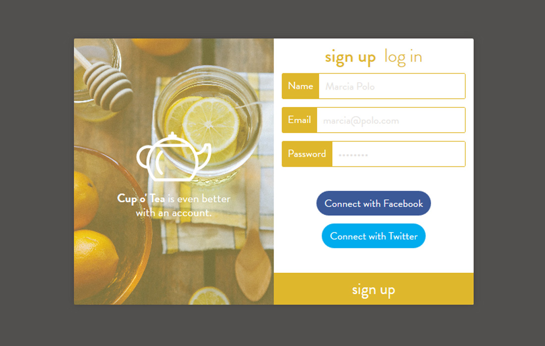 cupo-signup-free-bootstrap-registration-forms