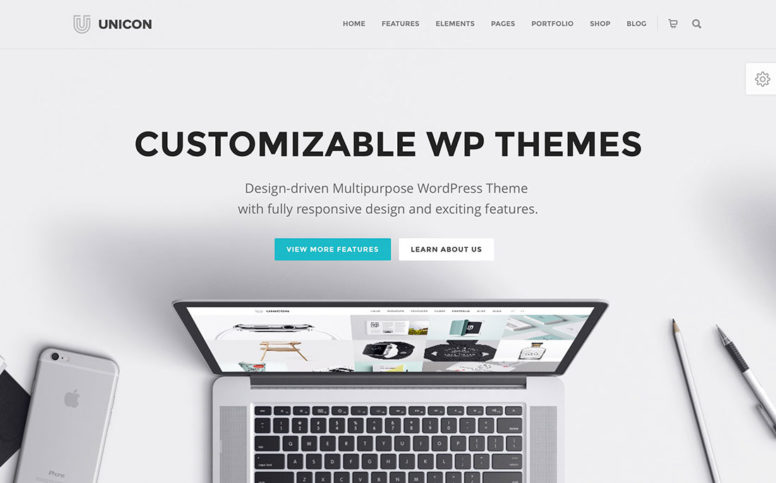 Top 20 Most Popular Highly Customizable WordPress Themes For Multiple Purposes 2017
