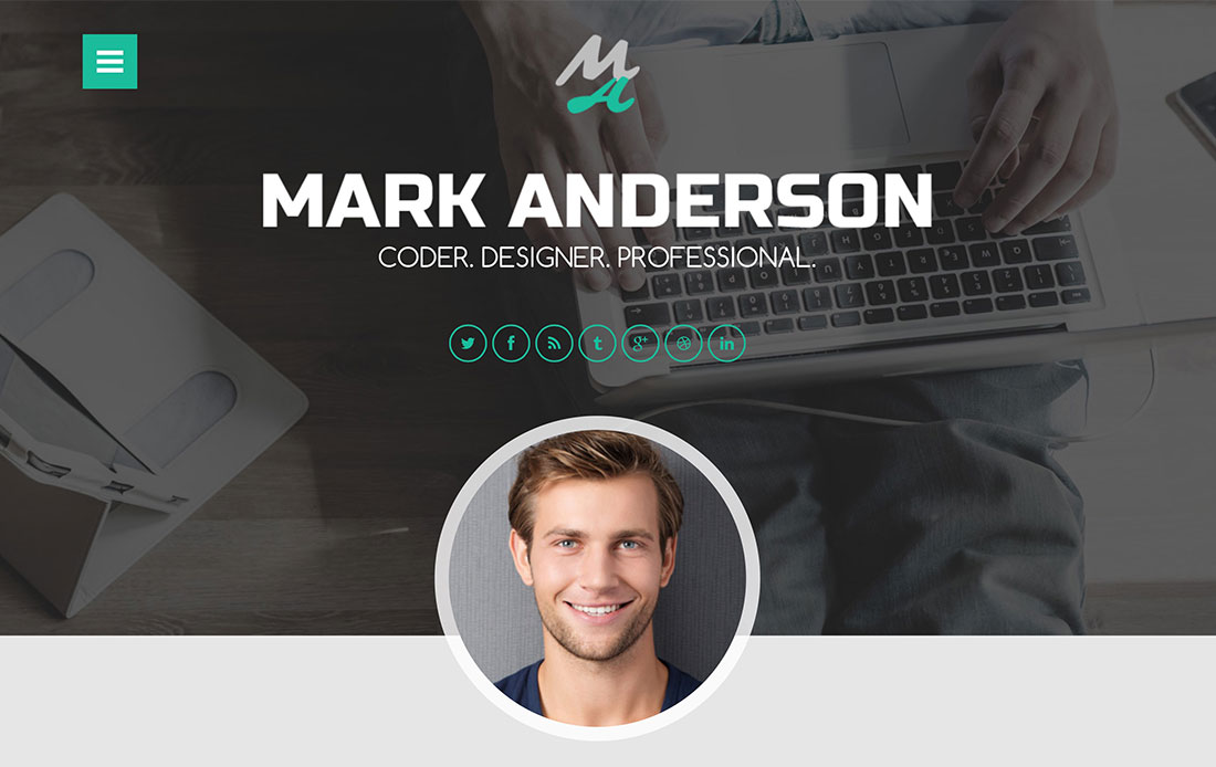 top 10 cv resume wordpress themes colorlib - Wordpress Resume Template