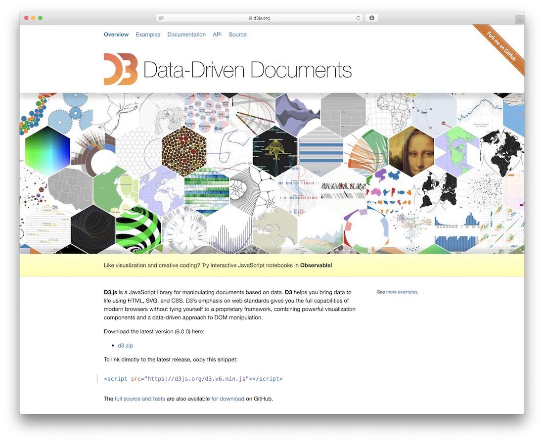 d3.js javascript framework