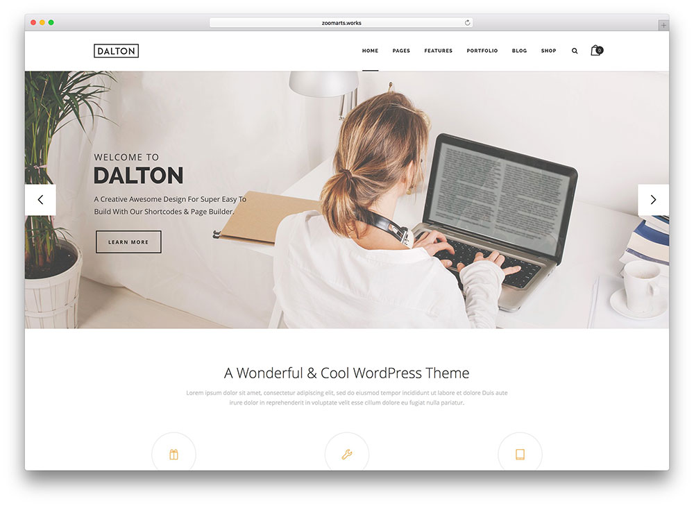 dalton-simple-multipurpose-business-theme