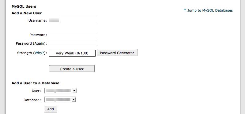 database-new-user