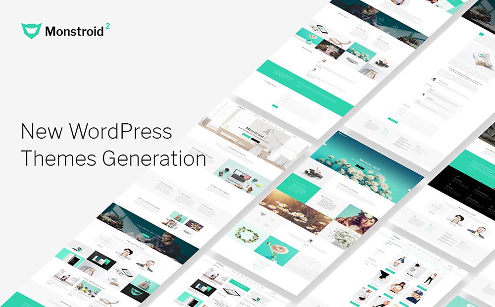 Monstroid2- Flagship Multipurpose WordPress Template