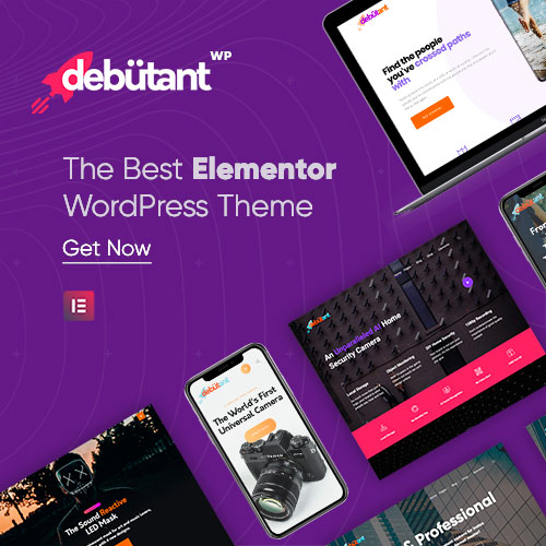 Debutant Elementor Themes on Colorlib
