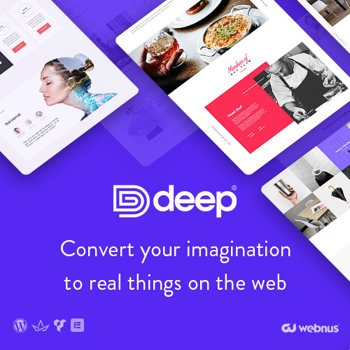Deep Multipurpose Themes on Colorlib
