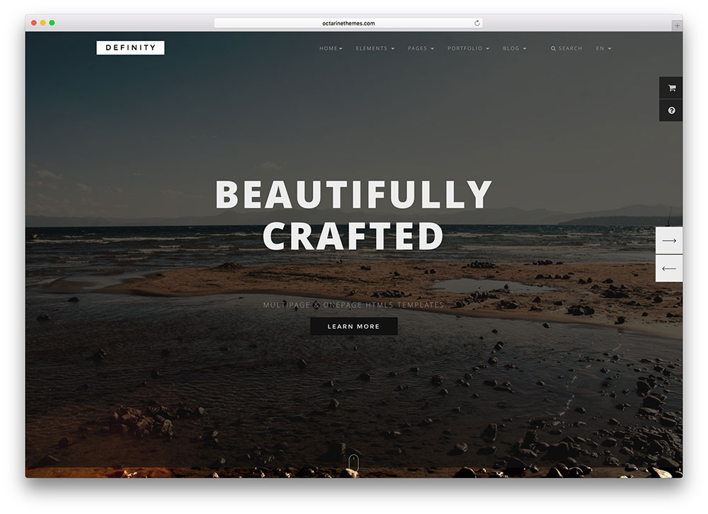 definity-one-page-portfolio-website-template