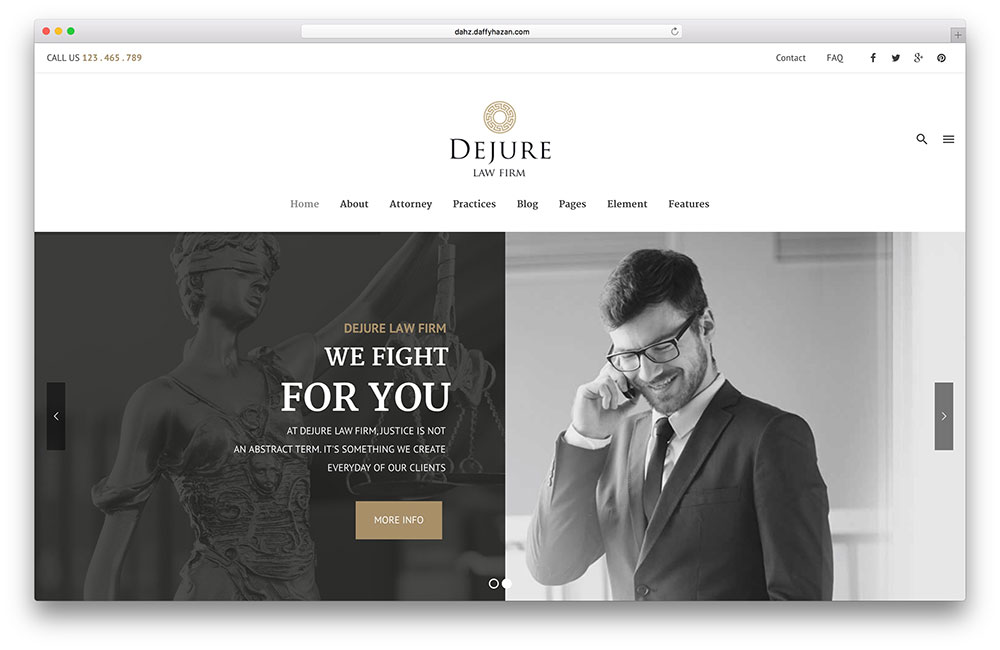 dejure-simple-lawyer-wordpress-theme