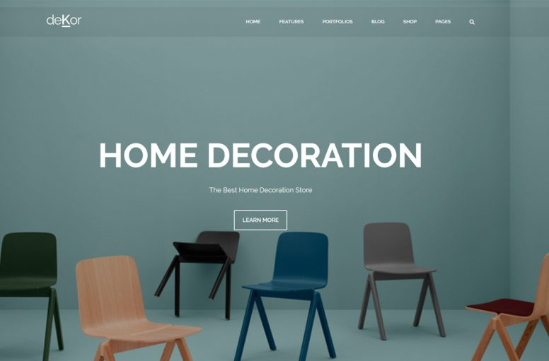 20 Best Interior Design Website Templates For Decors, Interior Designers And Constructors