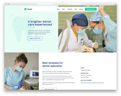 Dental Colorlib Template