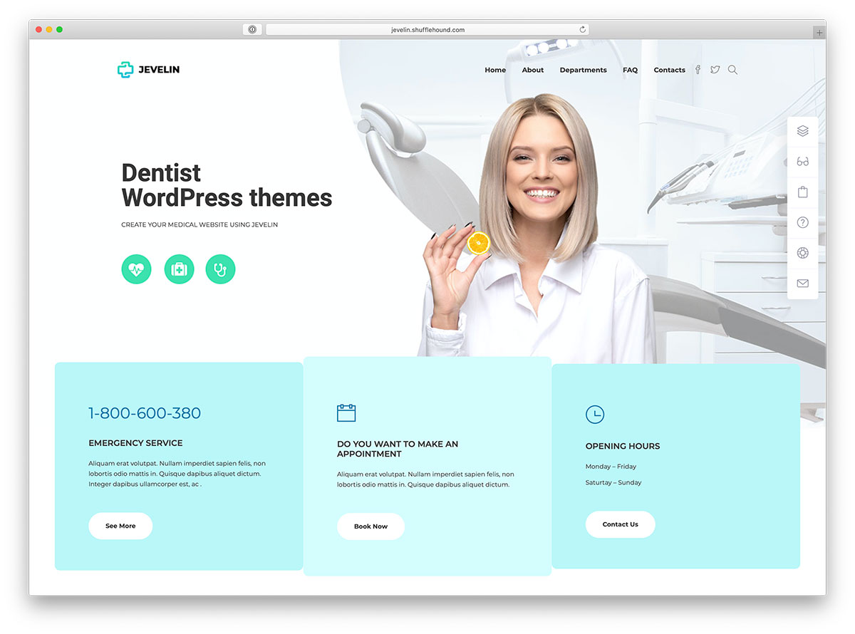 30+ Simple Dentist WordPress Themes 2020 - Colorlib