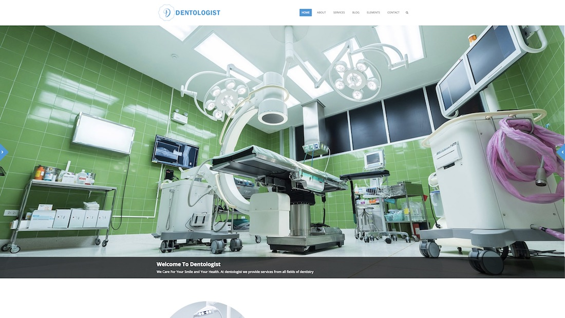 dentologist website template