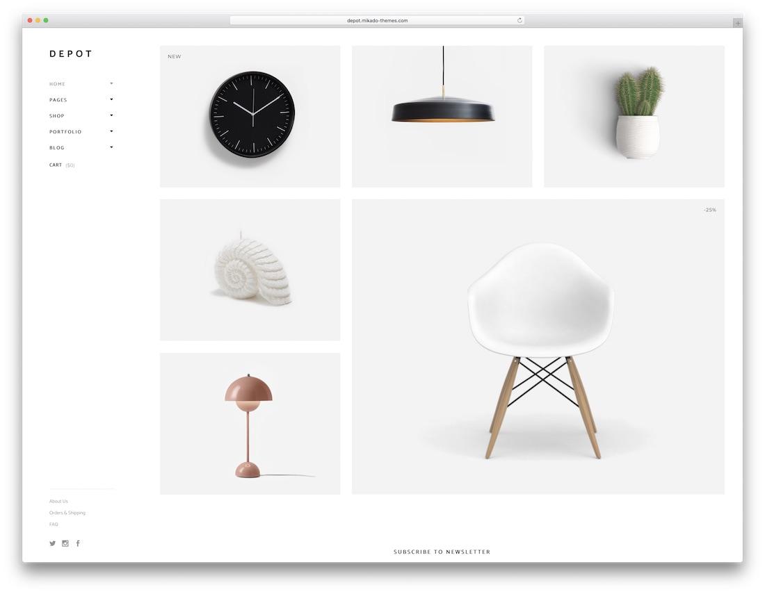 depot ecommerce wordpress theme