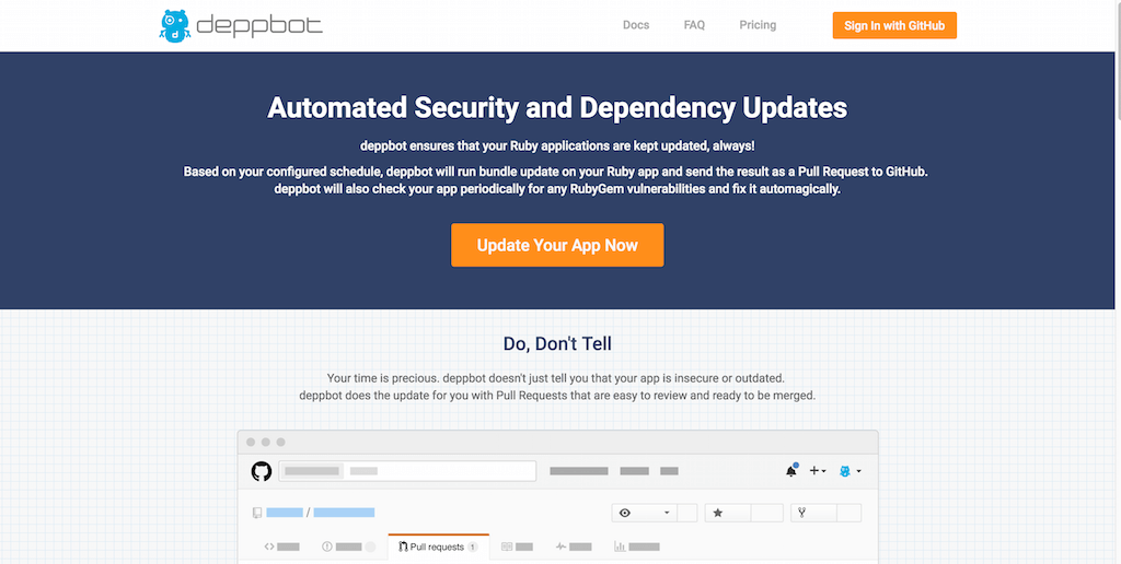 deppbot Automated Security and Dependency Updates
