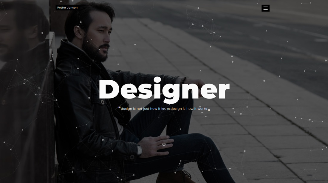 designer-bootstrap-personal-website-templates