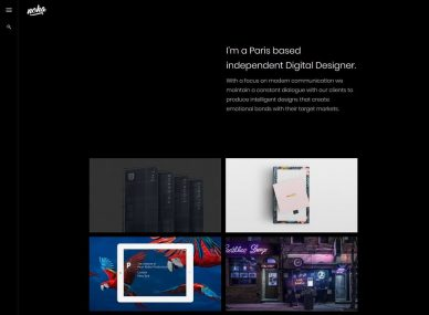 Designer Website Templates