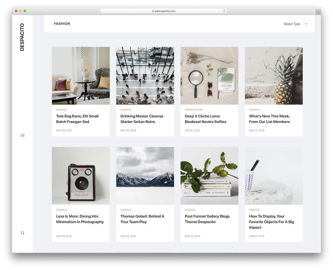 despacito lifestyle wordpress theme