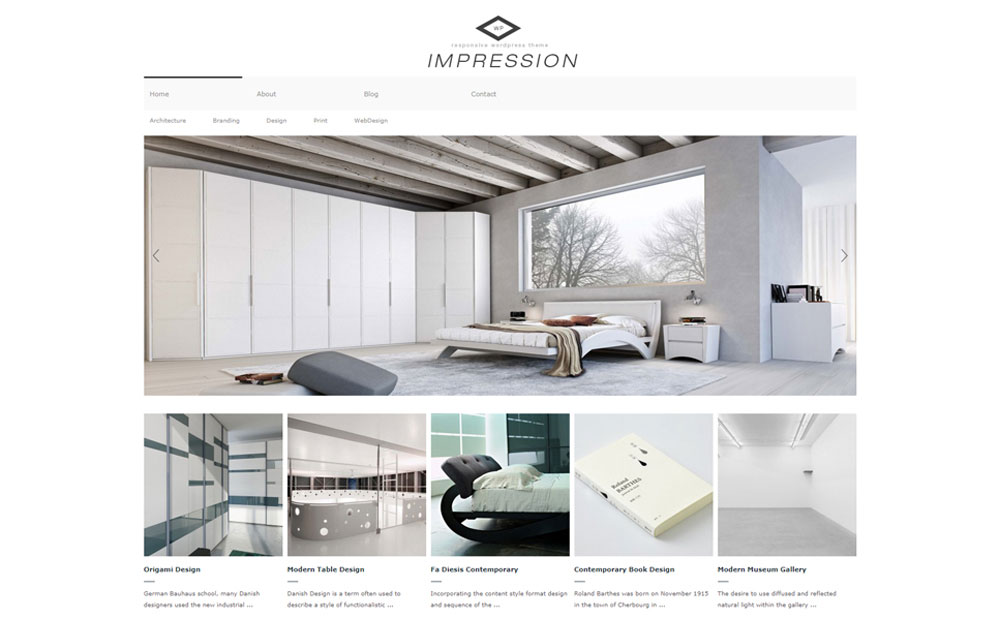 Immpression WordPress Theme