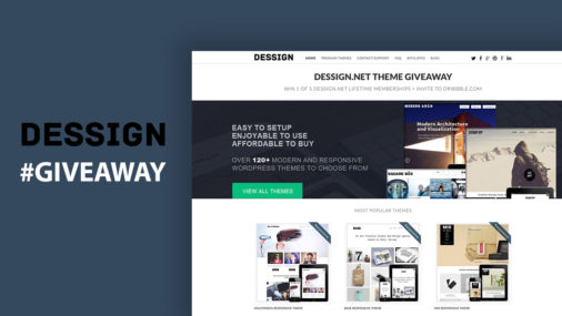 Dessign Wordpress Theme Giveaway