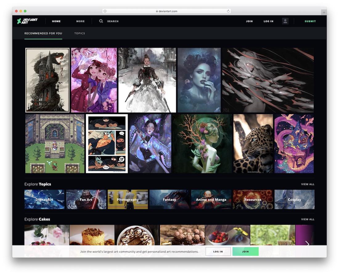 deviantart graphic designer showcase and sell