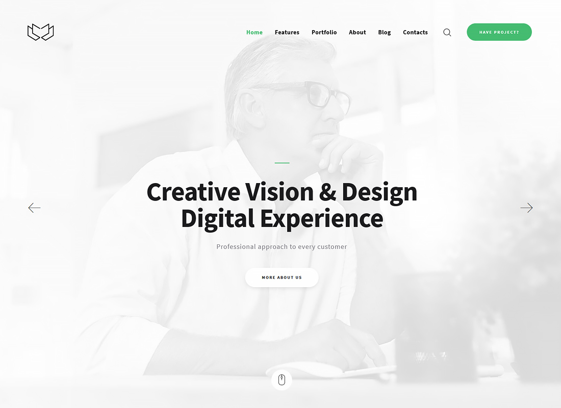 Deviox - Multi-Purpose Business WordPress Theme