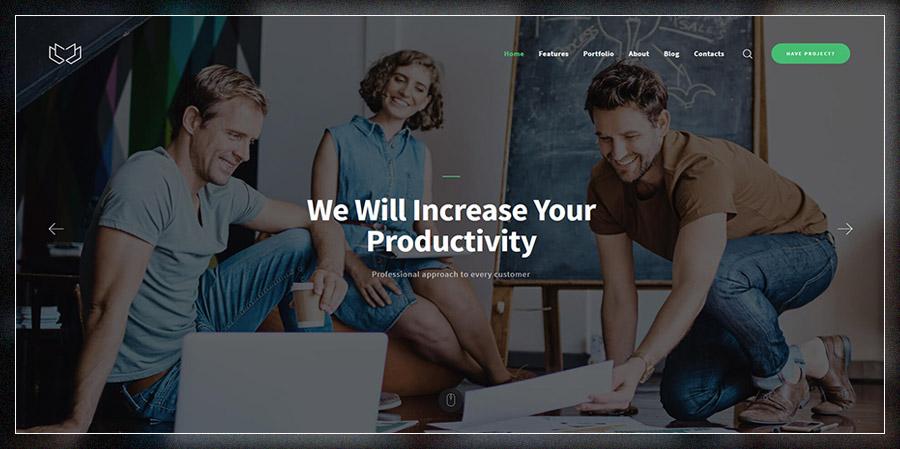 Deviox | Multi-Purpose Business Theme