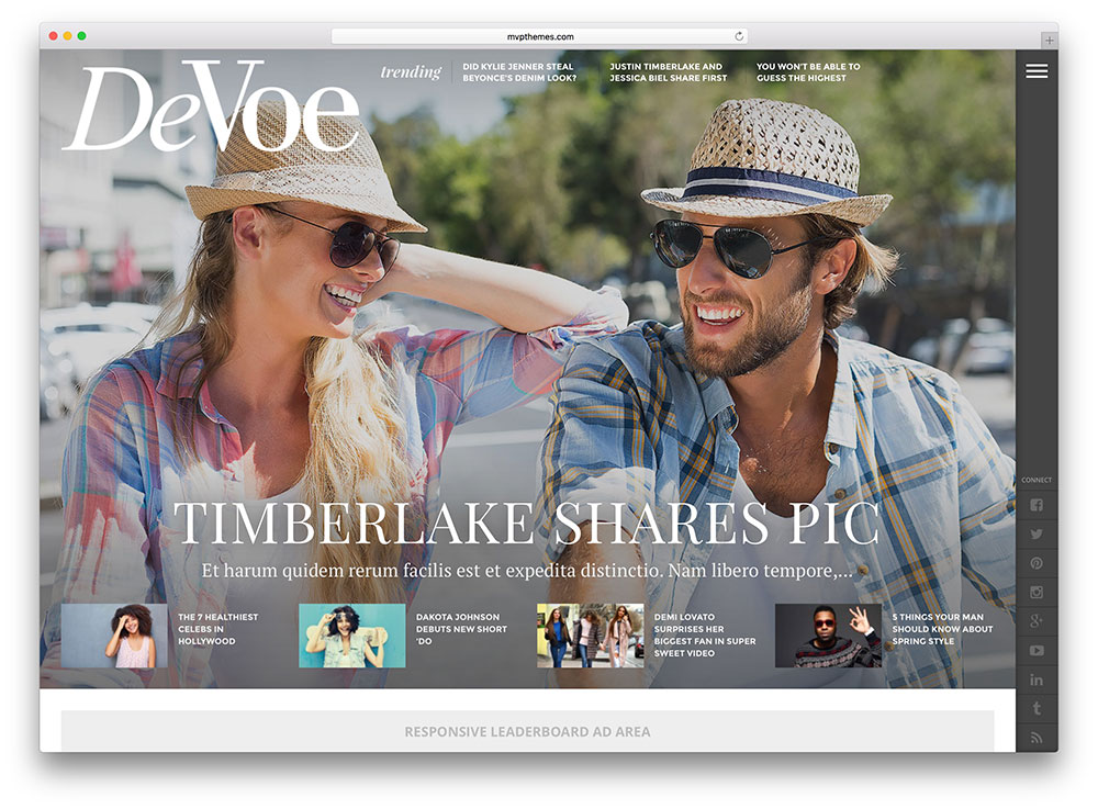 devoe-entertainment-magazine-theme