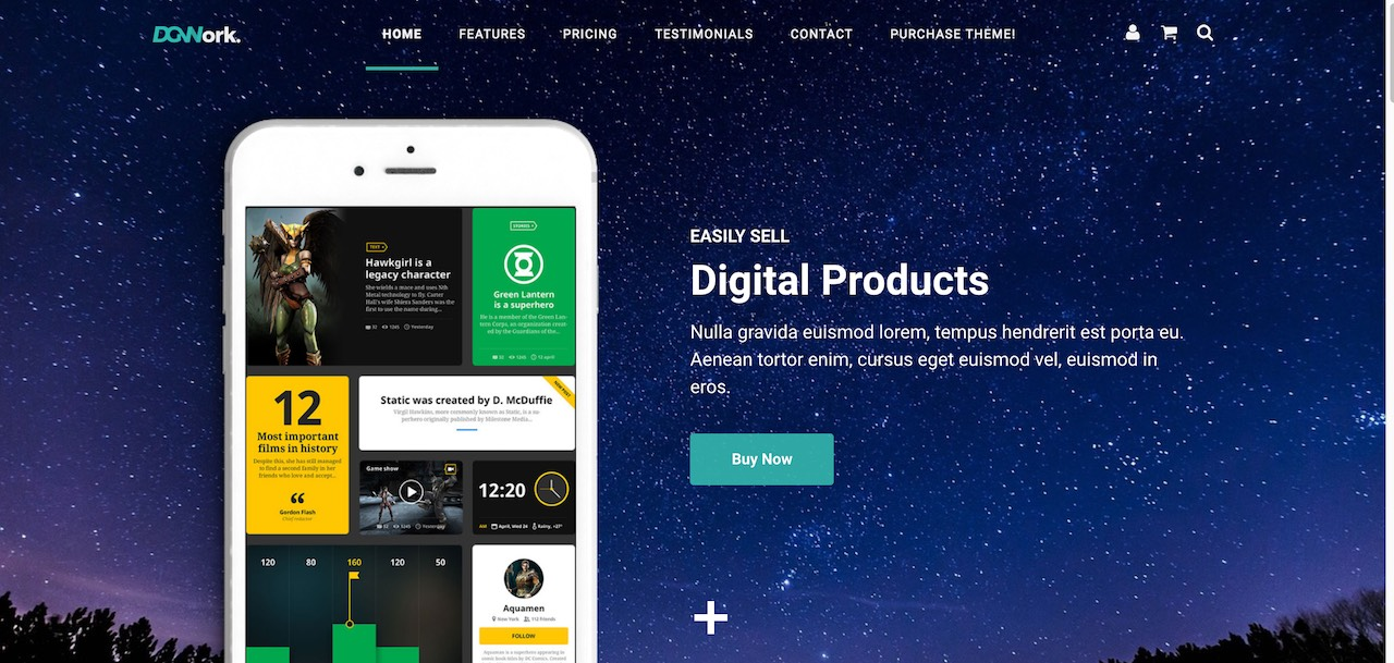 18 Easy Digital Download WordPress Themes To Sell Downloadable