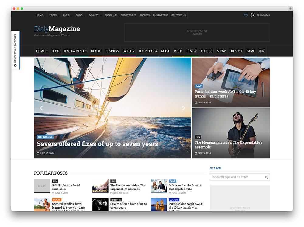 dialymagazine - lifestyle magazine