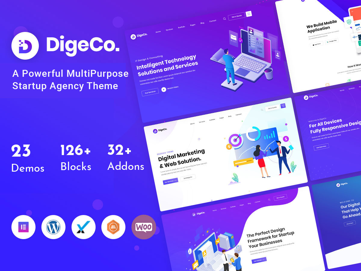 digeco - it company theme