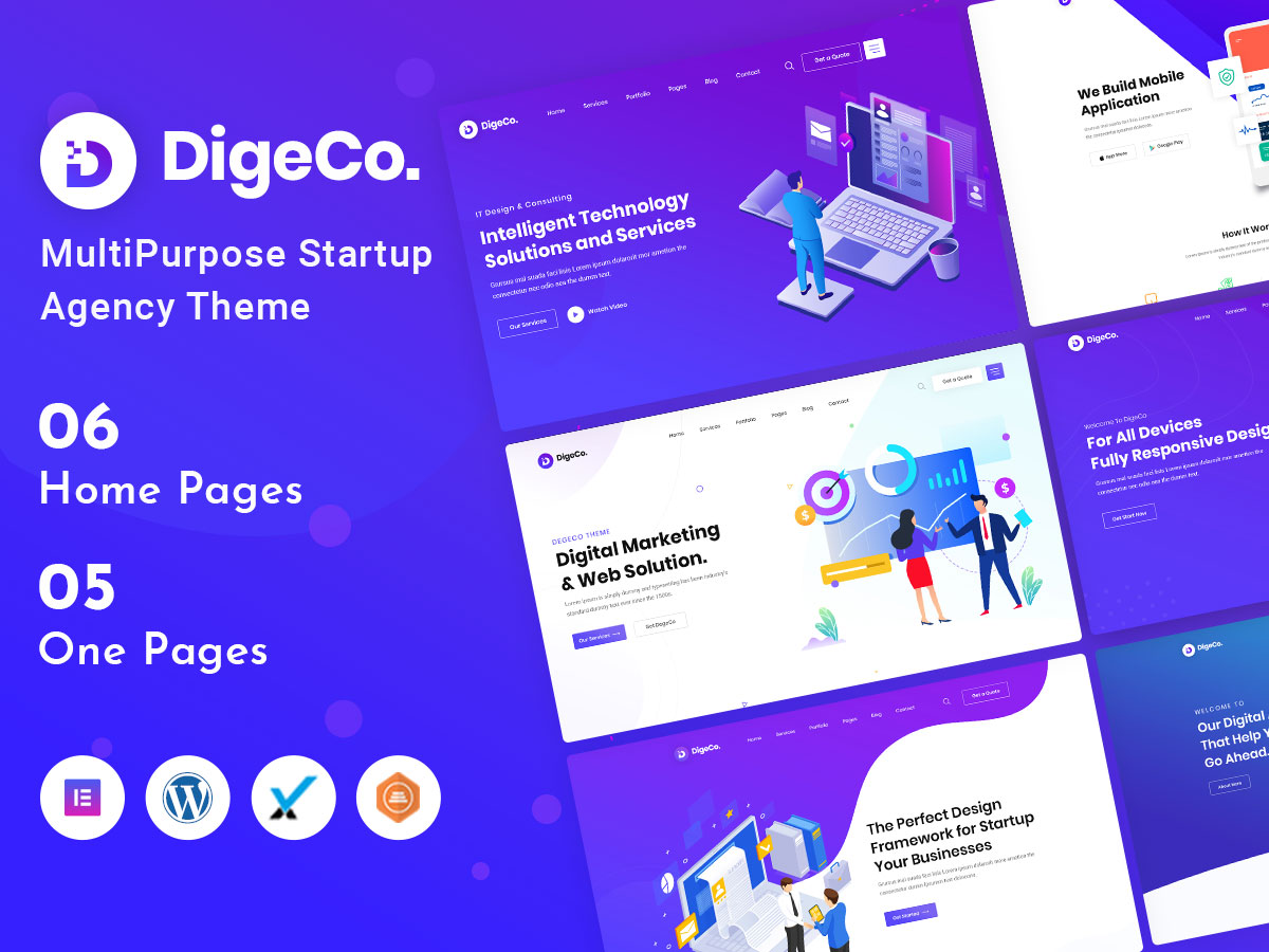digeco it company wordpress theme
