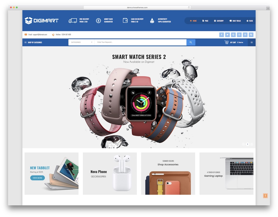 digimart prestashop theme