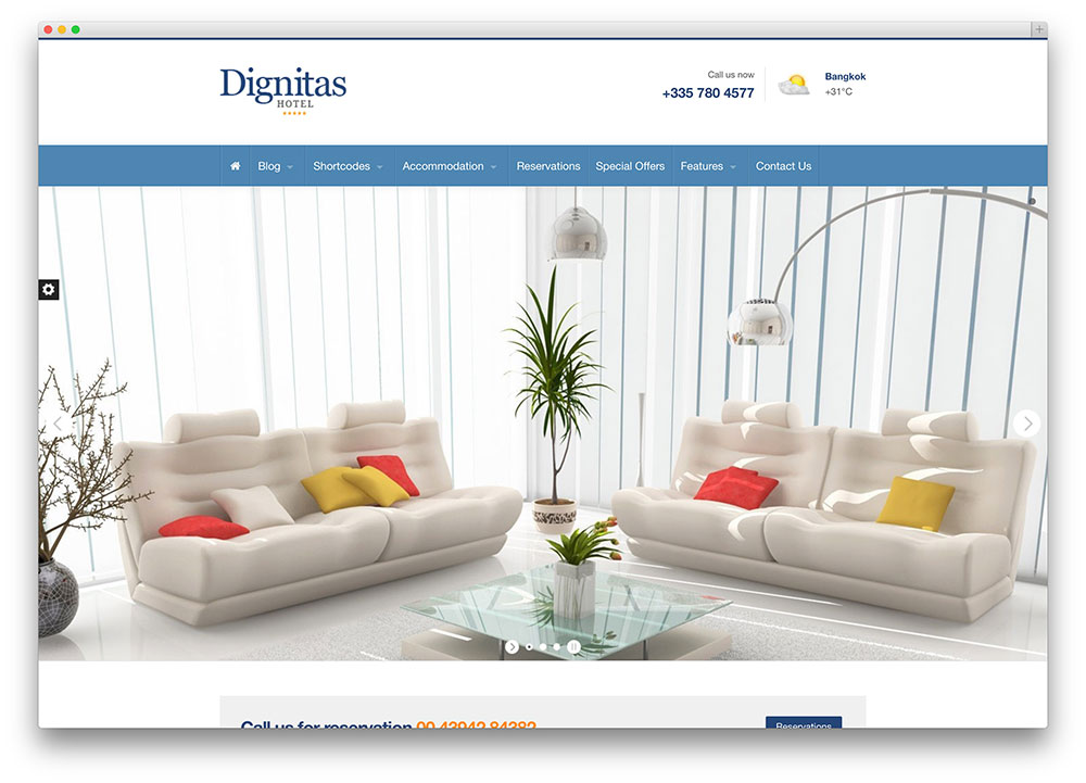diginitas - beautiful and minimal theme