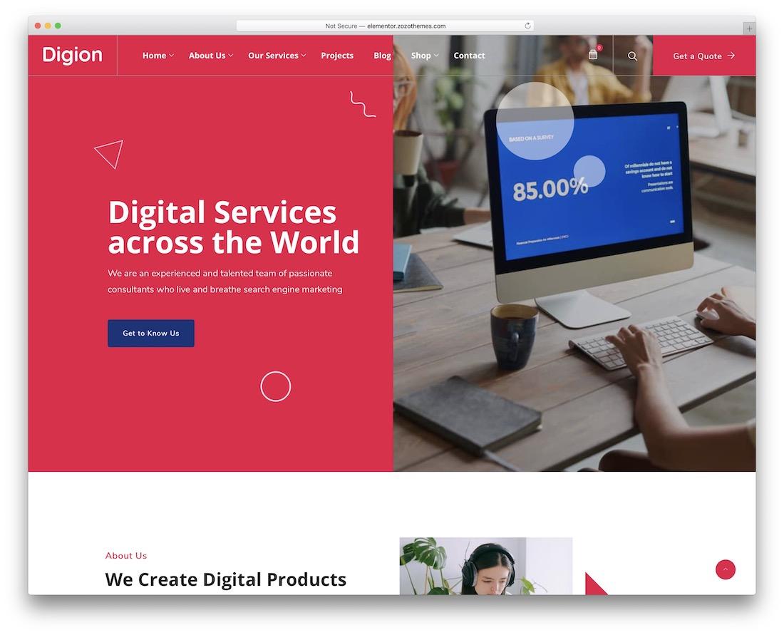 digion marketing wordpress theme