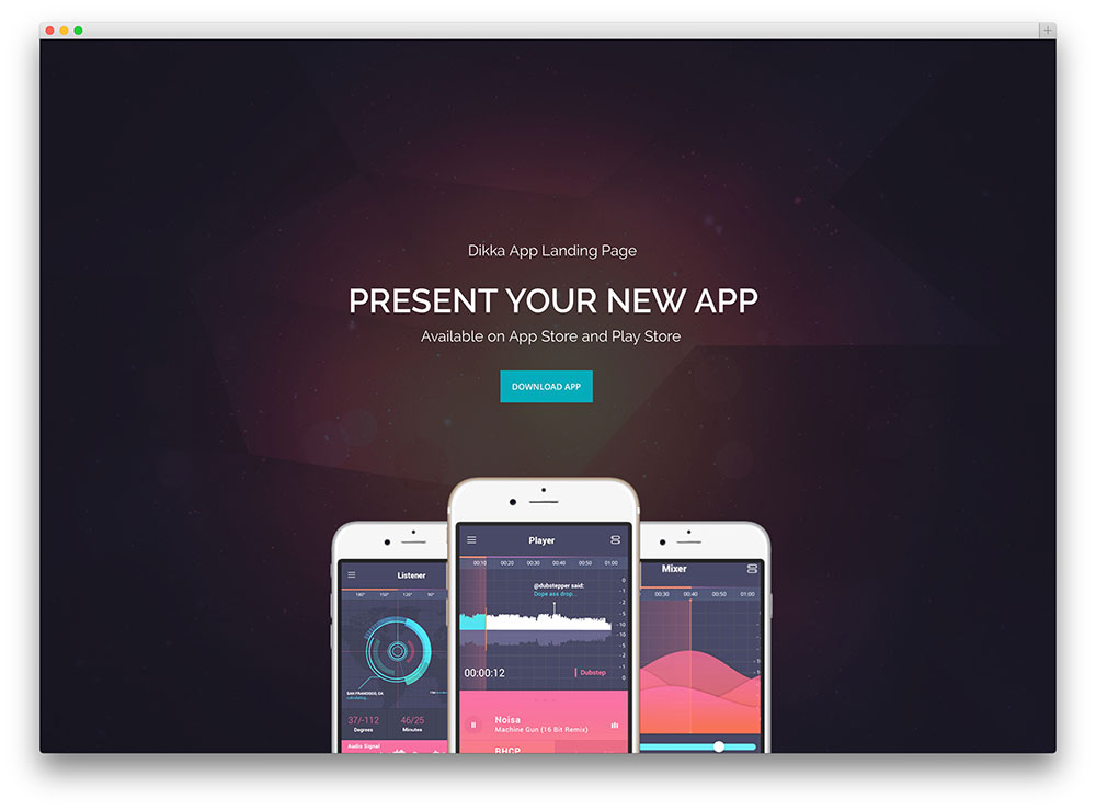 26 Best App & Software Showcase WordPress Themes 2017 - Colorlib