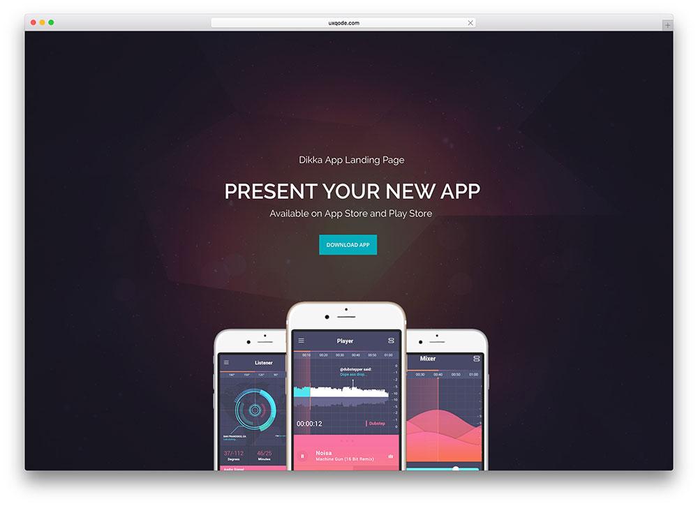 dikka-multipurpose-app-landing-page