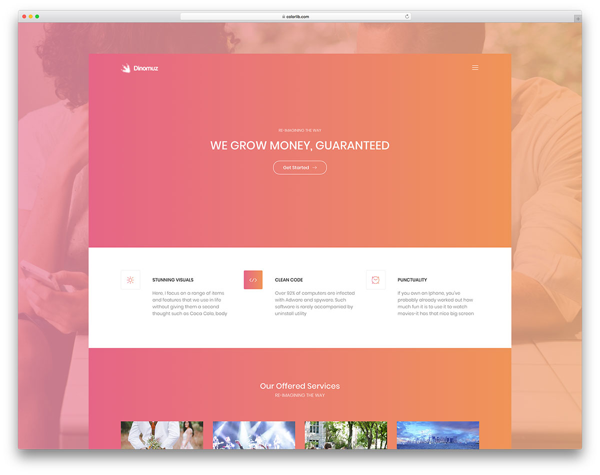 60 Top Free Bootstrap 4 Website Templates 2019 - Colorlib