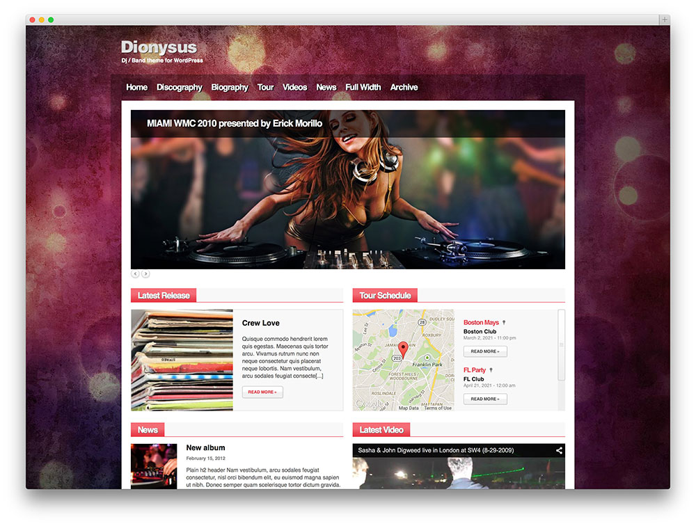 40+ Awesome & Responsive WordPress Music Themes 2015 ...