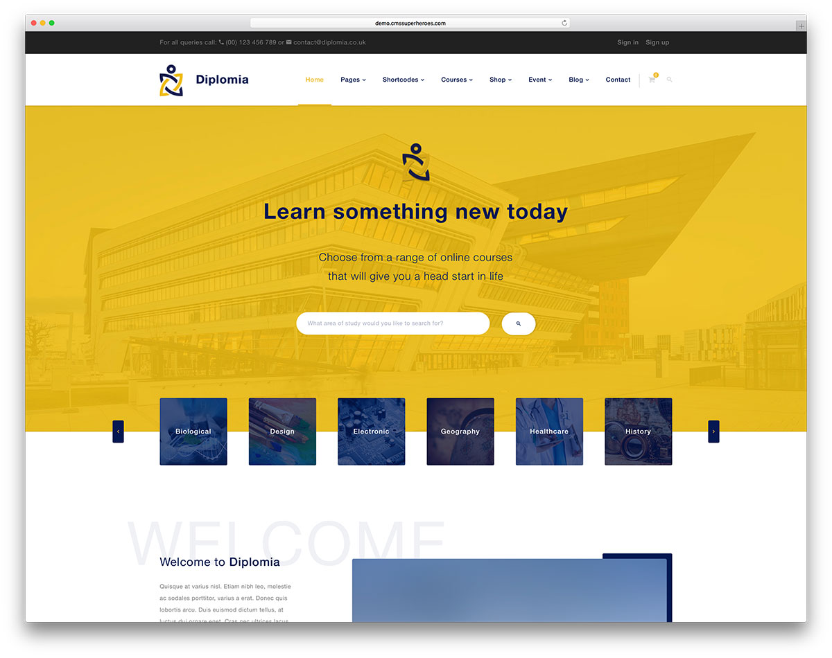 48 Awesome Responsive Wordpress Education Themes 2019 Colorlib