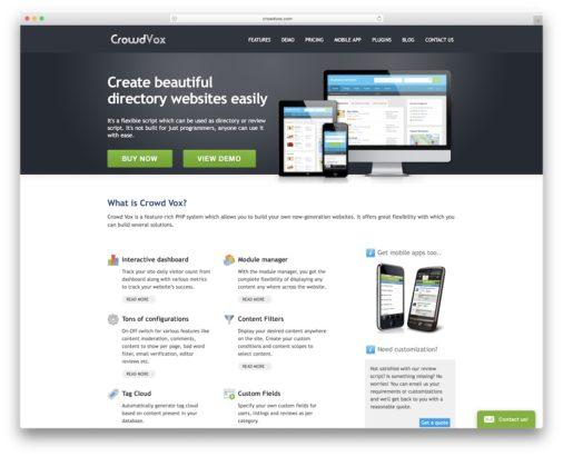Directory Website Builders