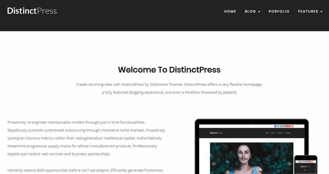 distinct-press