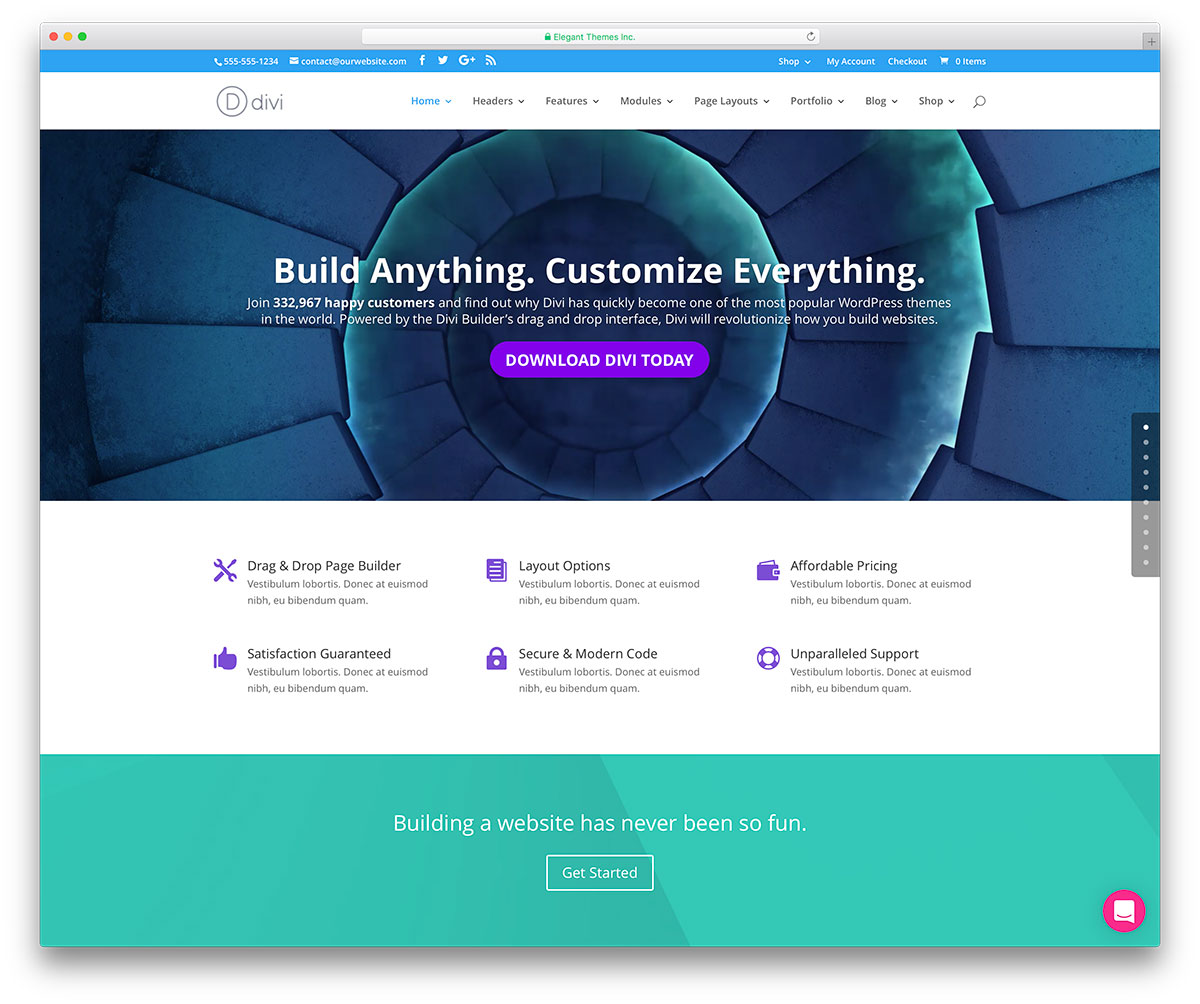 Google ventures theme - Divi Is An Incredibly Powerful Outstandingly Flexible Award Winning Wordpress Multipurpose Theme Ideally Suited For Business Ventures From Individual To