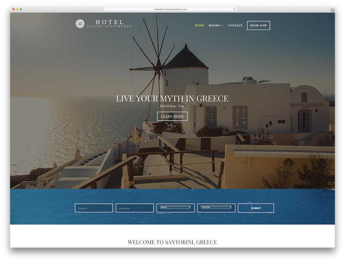 divi hotel child theme