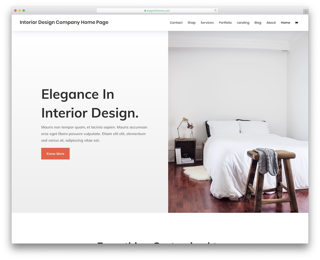 23 Best Responsive Interior Design Website Templates 2020