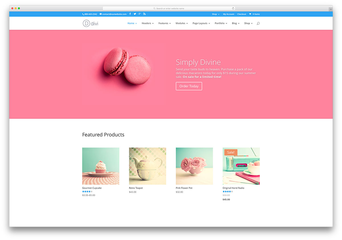 18 jewelry wordpress themes for ecommerce sites 2018 for Name of online shopping websites