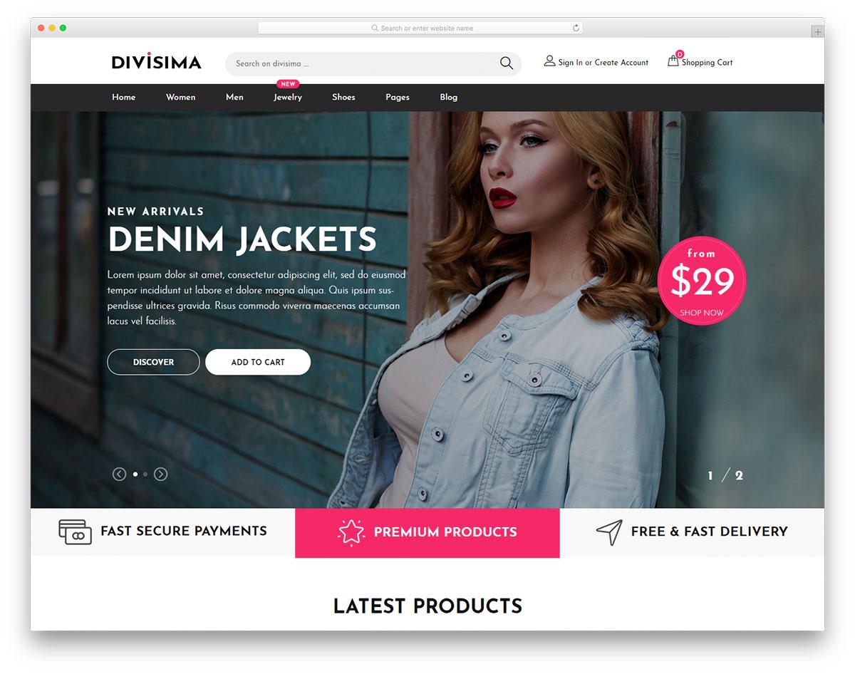 7d395d1946 30 Best Free Responsive Website Templates For Flexibility 2019 ...