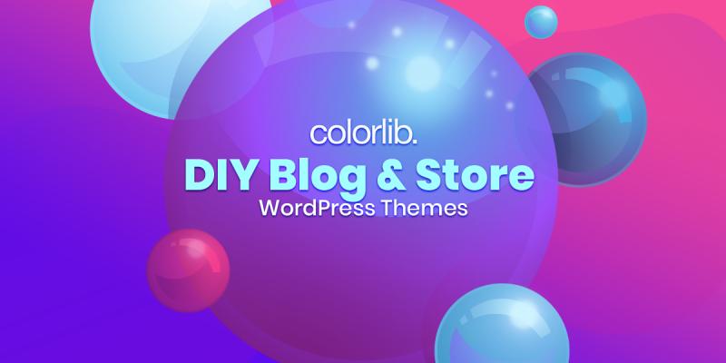 10+ DIY Blog WordPress Themes