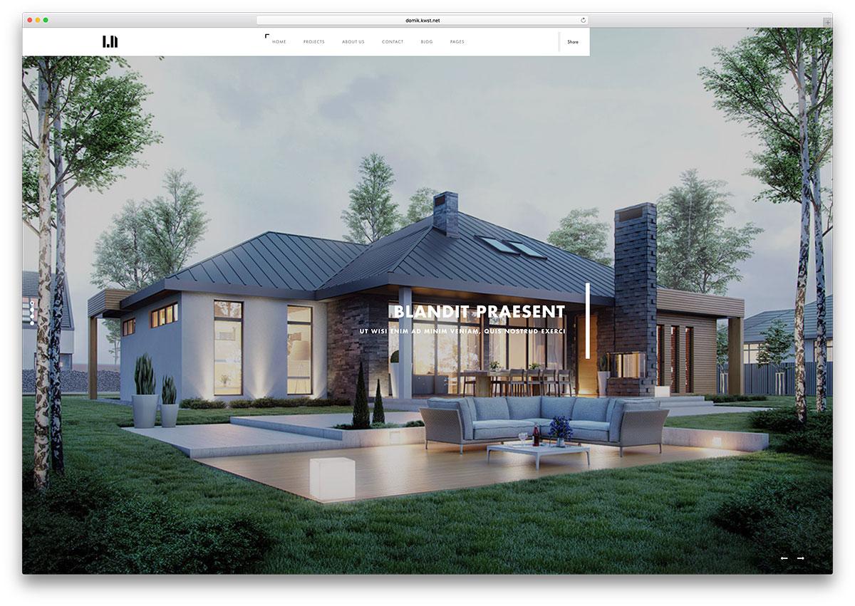 domik-minimal-real-estate-html-template